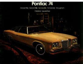 1974 Pontiac Full Line CN