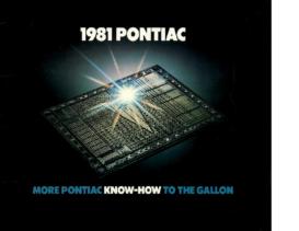 1981 Pontiac Full Line