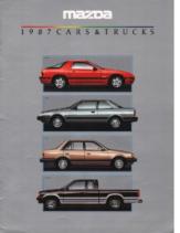 1987 Mazda Full Line