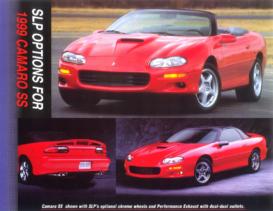 1999 Chevrolet Camaro SS SLP Sheet