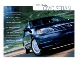2003 Honda Civic Factsheet