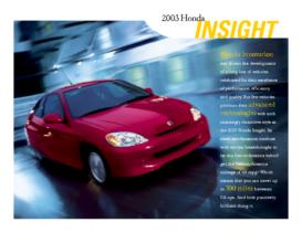 2003 Honda Insight Factsheet