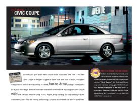 2004 Honda Civic Coupe Factsheet