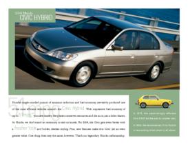 2004 Honda Civic Hybrid Factsheet