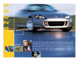2004 Honda S2000 Factsheet