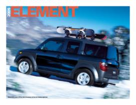 2005 Honda Element Factsheet