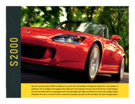 2005 Honda S2000 Factsheet