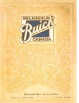 1925 McLaughlin Buick Booklet