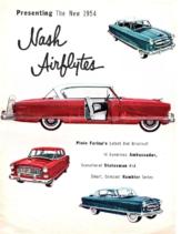 1954 Nash AirFlytes Foldout