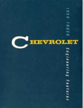 1959 Chevrolet Truck Engineering Features