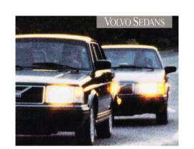 1993 Volvo Full Line