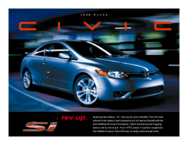 2006 Honda Civic SI Factsheet