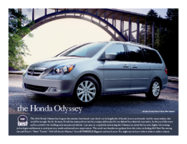 2006 Honda Odyssey Factsheet