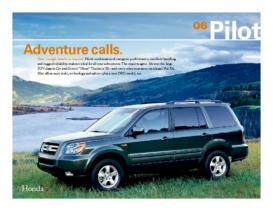 2006 Honda Pilot Factsheet