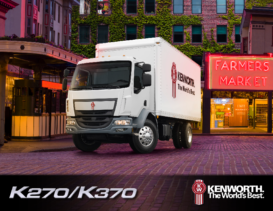 2019 Kenworth K Series Cabover