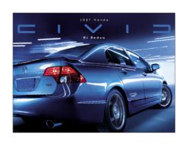 2007 Honda Civic Si Sedan Factsheet