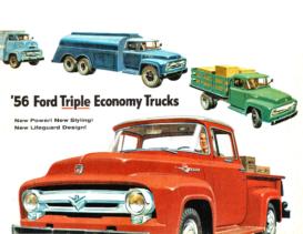 1956 Ford Truck Full Line