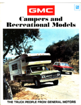 1971 GMC Campers and Recreational Models