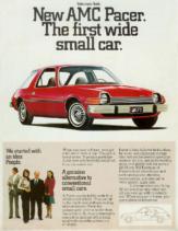 1975 AMC Pacer Salesmans Guide