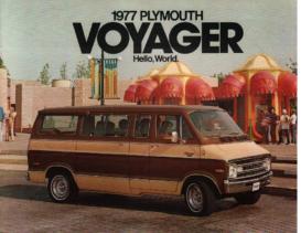 1977 Plymouth Voyager Van