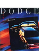 1989 Dodge Colt