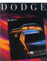 1989 Dodge Omni America