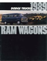 1989 Dodge Ram Wagons