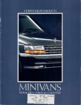 1992 Chrysler Plymouth Minivans