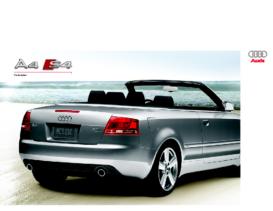 2009 Audi A4 S4 Convertible