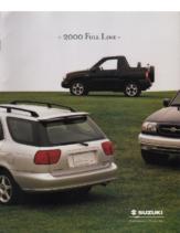 2000 Suzuki Full Line