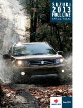 2013 Suzuki Full Line