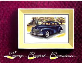 1948 Checker A3 Limousine Sedan