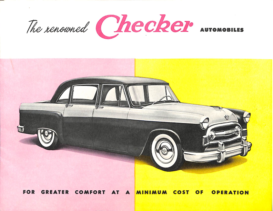 1957 Checker A8 Brochure