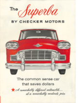 1959 Checker A10 Superba Large Format