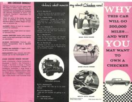 1960 Checker Marathon Station Wagon Foldout