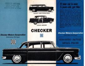 1960 Checker Prices