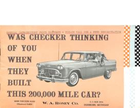 1960 Checker