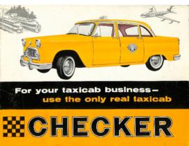 1961 Checker A9 Taxi