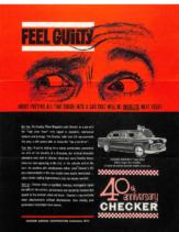 1962 Checker Feeling Guilty Flyer