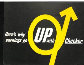 1963 Checker Earnings Up