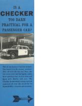 1963 Checker Marathon Foldout