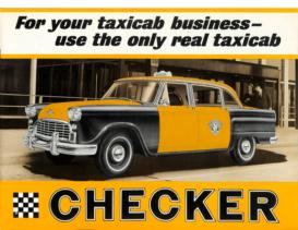 1963 Checker Taxi