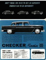 1964 Checker Info