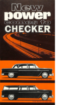 1964 Checker V8-Stright 6 Engine