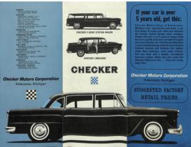 1965 Checker Marathon Trifold