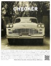 1967 Checker Full Line Foldout