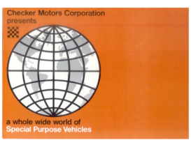 1967 Checker Special Purpose Vehicles