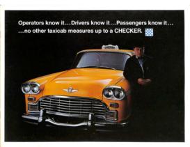 1968 Checker Taxi