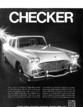 1969 Checker Full Line