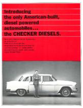 1969 Checker Marathon Diesel
